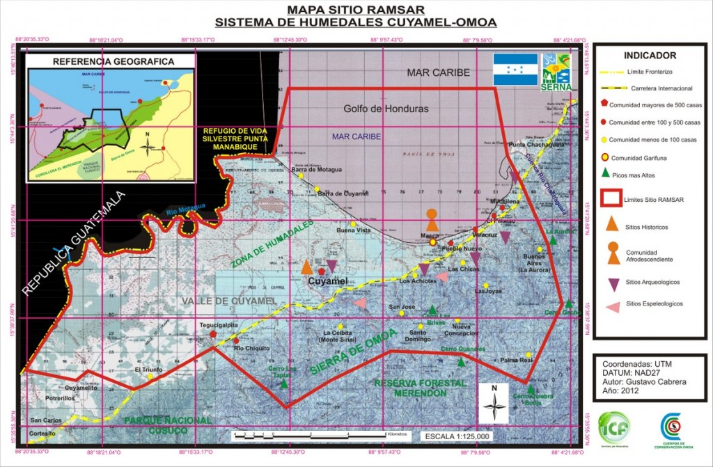 mapa BASICO SITIO RAMSAR abril 2013 UV