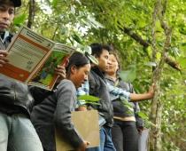 Taller con ASOCUCH en Huehuetenango, Guatemala