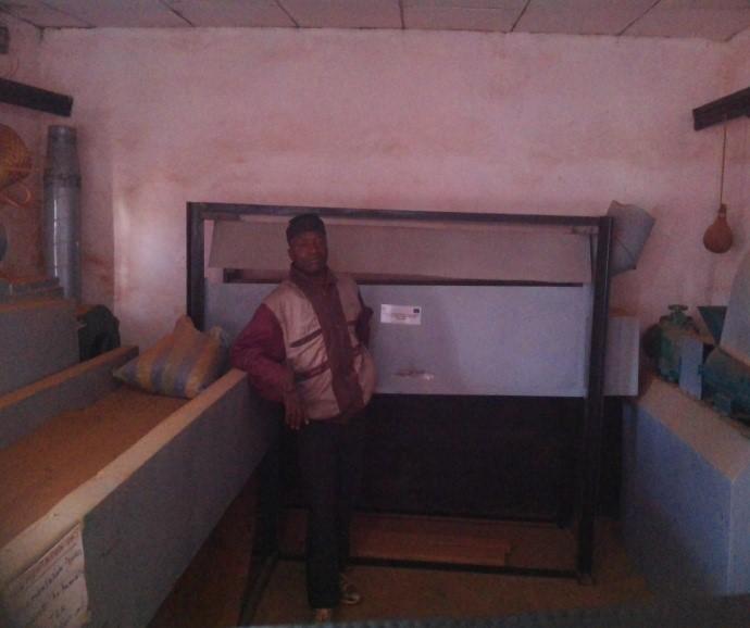 Las instalaciones para el procesamiento de té, listo para ser utilizado por la cooperativa local. Foto: CENDEP