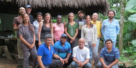 Each one teach one: a new cohort of analog forestry trainers