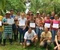 Taller de forestería análoga en Rancho Quemado, Costa Rica